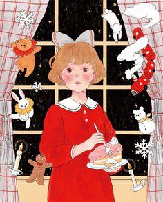 Pretty Art, Cute Art, Anime Art Girl, Manga Girl, Anime Girls, Graphic Illustration, Manga Illustration, Art Sketchbook, Aesthetic Art