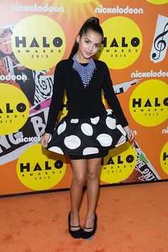 Isabela Moner || Must-See Star Styles from the 2015 HALO Awards