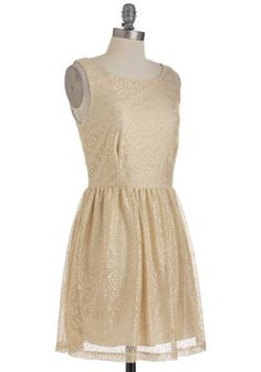 Glamour to Love Dress, #ModCloth