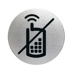 Symbol sign, mobile phones not allowed