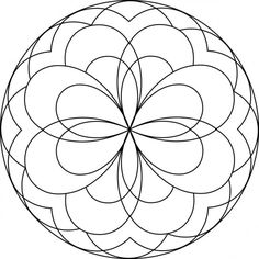 Looking for a Coloriage A Imprimer Mandala Coeur. We have Coloriage A Imprimer Mandala Coeur and the other about Coloriage Imprimer it free. Easy Coloring Pages, Flower Coloring Pages, Mandala Coloring Pages, Coloring Pages To Print, Coloring Pages For Kids, Coloring Books, Kids Coloring, Mandalas Painting, Mandalas Drawing