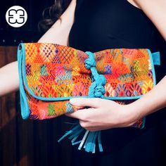 Take a closer look at this vibrant Clutch