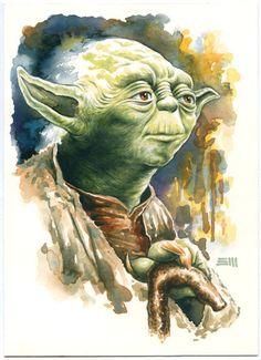 Yoda - Star Wars - Erik Maell