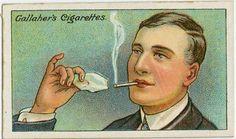 L'astuce d'autrefois qui marche encore aujourd'hui pour allumer une cigarette avec un glaçon.
