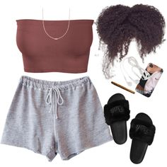 A fashion look from February 2017 featuring Clu shorts and Ross-Simons necklaces. Browse and shop related looks.