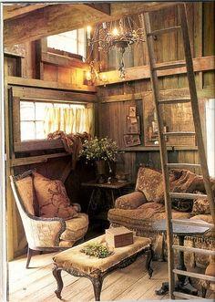 Elegant rustic cabin (pinned by www.redwoodclassics.net)