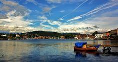 A beautyful day in Porsgrunn. Photo by Tore Skifjeld