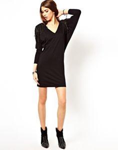 Image 4 ofReligion Tassel Shoulder Dress