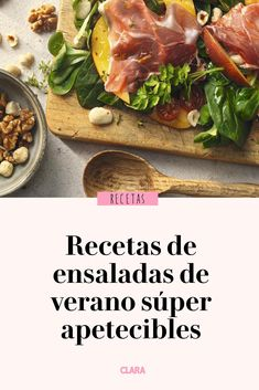 Easy and appetizing summer salads - ensalada - Real Food Recipes, Healthy Recipes, Food Decoration, Summer Salads, Diy Food, Deli, Cooking Time, How To Stay Healthy, Nutella