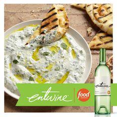 Creamy Middle Eastern Spicy Herb Dip. https://entwine-wines.com/pairings/creamy-middle-eastern-spicy-herb-dip