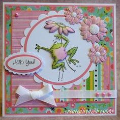 A Scrapjourney: Hello Froggy