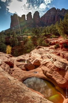 Will go hiking to Seven Sacred Pools ~ Sedona, Arizona (my used to be happy, happy place)