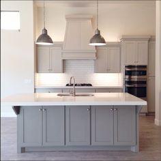 Benjamin Moore Revere Pewter Cabinets - Alice Lane Home