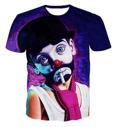 Hip Hop T-shirt Men 3D Printed