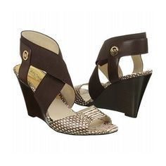 MICHAEL MICHAEL KORS Women's Meadow Wedge Sandal - was $149.95, now $127.46 (15% Off). Picked by marilari @ shoes.com