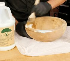 How To Seal Green Wood For Turning