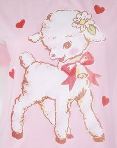 Sweet Baby Lamb T-Shirt Fairy Kei Pink Aesthetic Lolita Photo Wall Collage, Picture Wall, Posters Wall, 1 Tattoo, Dibujos Cute, Kawaii, Pink Aesthetic, Cute Art, Aesthetic Wallpapers