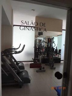SALA DE GINÁSTICA DO CONDOMINIO
