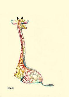 Flashy giraffe : )