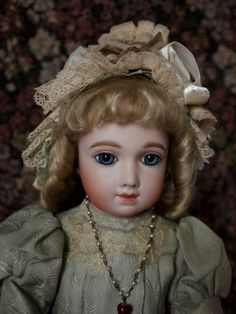 A.T Antique doll reproduction by Hiroko Saito.