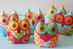 family of owls by Janelle Wind
