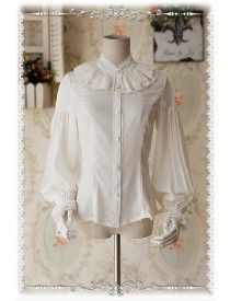 Infanta ***Swan Lake*** Puffy Long Sleeves Lolita Blouse