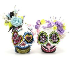 Skull Wedding Cake Topper A00147