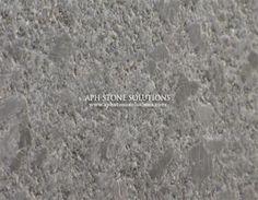 "Club/Media Room Countertop - Steel Grey Leathered Granite with 1/4"" Bevel Edge"