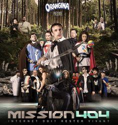 La dernière opération d'Orangina, le court-métrage jouissif et geek Mission 404 : Internet doit rester vivant.