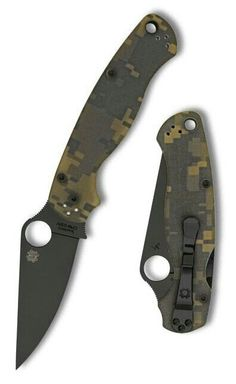 Spiderco tactical folding
