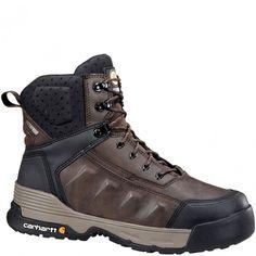 CMA6046 Carhartt Men's Force Work Boots - Brown www.bootbay.com