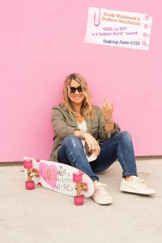 219d3a62496 OG Pro skater Cindy Whitehead x Dusters California Skateboard Collab.  Launching at the Vans Warped Tour this summer! GIRL is NOT a 4 Letter Word  Photo  Ian ...