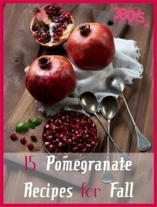 15 Pomegranate Recipes for Fall - from a complete dinner recipe to salad. From beverages to desserts. Adding in some pomegranate juice or seeds to make your next meal a healthy alternative! Pomegranate Recipes, Pomegranate Molasses, Pomegranate Juice, Other Recipes, Great Recipes, Fall Recipes, Dinner Recipes, Mango, Poached Pears