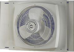 Amazon.com - Lasko 2155A Electrically Reversible Window Fan, 16-Inch - Electric Household Window Fans