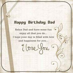 Happy birthday dad quotes father birthday quotes happy birthday fathers birthday m4hsunfo