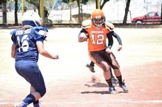 Browns cae ante Marines 19-24 en la New League Footbal ~ Ags Sports