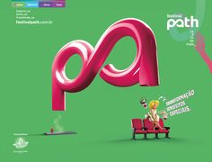 Logo do Path 'suga' pessoas, em campanha   Clube de Criação