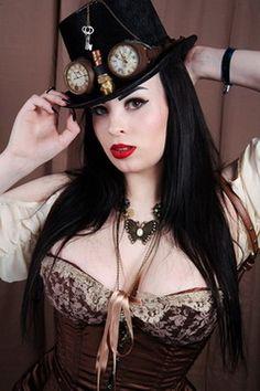 Steampunk Girls — steampunk-divas:   Steampunk Girl