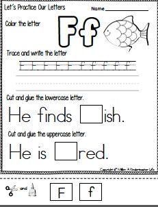 tracing worksheet maker