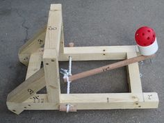 Daddy For Life: Project: Build a Catapult
