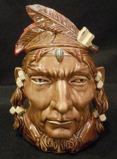 McCoy Cookie Jars--Indian Head Cookie Jar