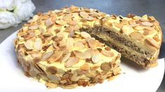Almond Recipes, Baking Recipes, Cake Recipes, Snack Recipes, Dessert Recipes, Foods With Gluten, Gluten Free Desserts, Types Of Cake Flavors, Food Cakes