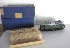 Original VTG Fleischmann 1335 1952 E44 Electric Train w/box, paperwork, UNUSED #Fleischmann