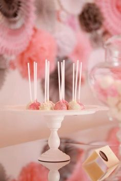 Love the pink, white & taupe colour theme Ballerina Party Favors, Ballerina Birthday Parties, 4th Birthday Parties, Birthday Fun, Birthday Ideas, Baby First Birthday, Third Birthday, Taupe Colour, Creative Party Ideas