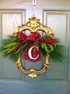 Tartan & Monogram Christmas