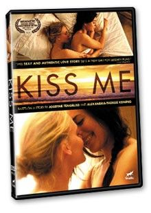 The stunning Ruth Vega Fernandez stars as Mia, a thirty-something well-to-do architect who finds her life turned upside down when she unexpectedly falls in love with the free-spirited Frida (beautiful blond Liv Mjones). Notable for its sumptuous and sensual love scenes, Kiss Me deftly portrays the ecstasy of true undeniable lesbian love entwined with the angst of coming out.