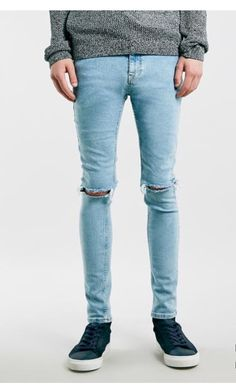 43 best pinted images hijab dress, hijab styles, hijab outfit  double ripped aqua skinny jeans by topman , hella trendy now and days topman jeans