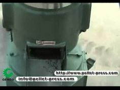 Home Made Wood Pellet Mill, Small Pellet Mill Machine - YouTube