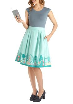 Been There, London That Skirt, #ModCloth