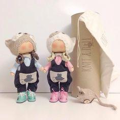 Интерьерные куклы Knit & Doll